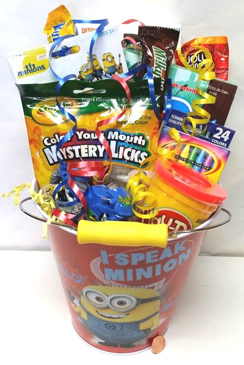 Minion Candy Bucket
