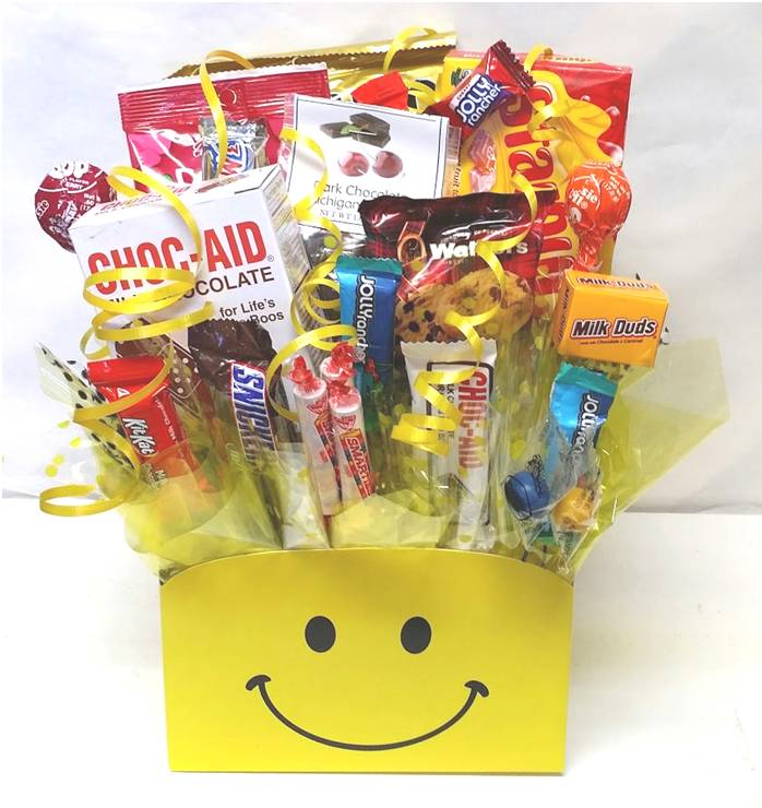 Smiley Candy Box