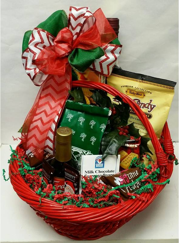 Mrs Santa's Coffee Basket