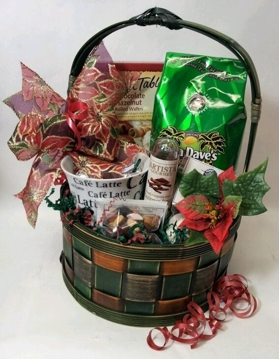 Santa's Coffee basket