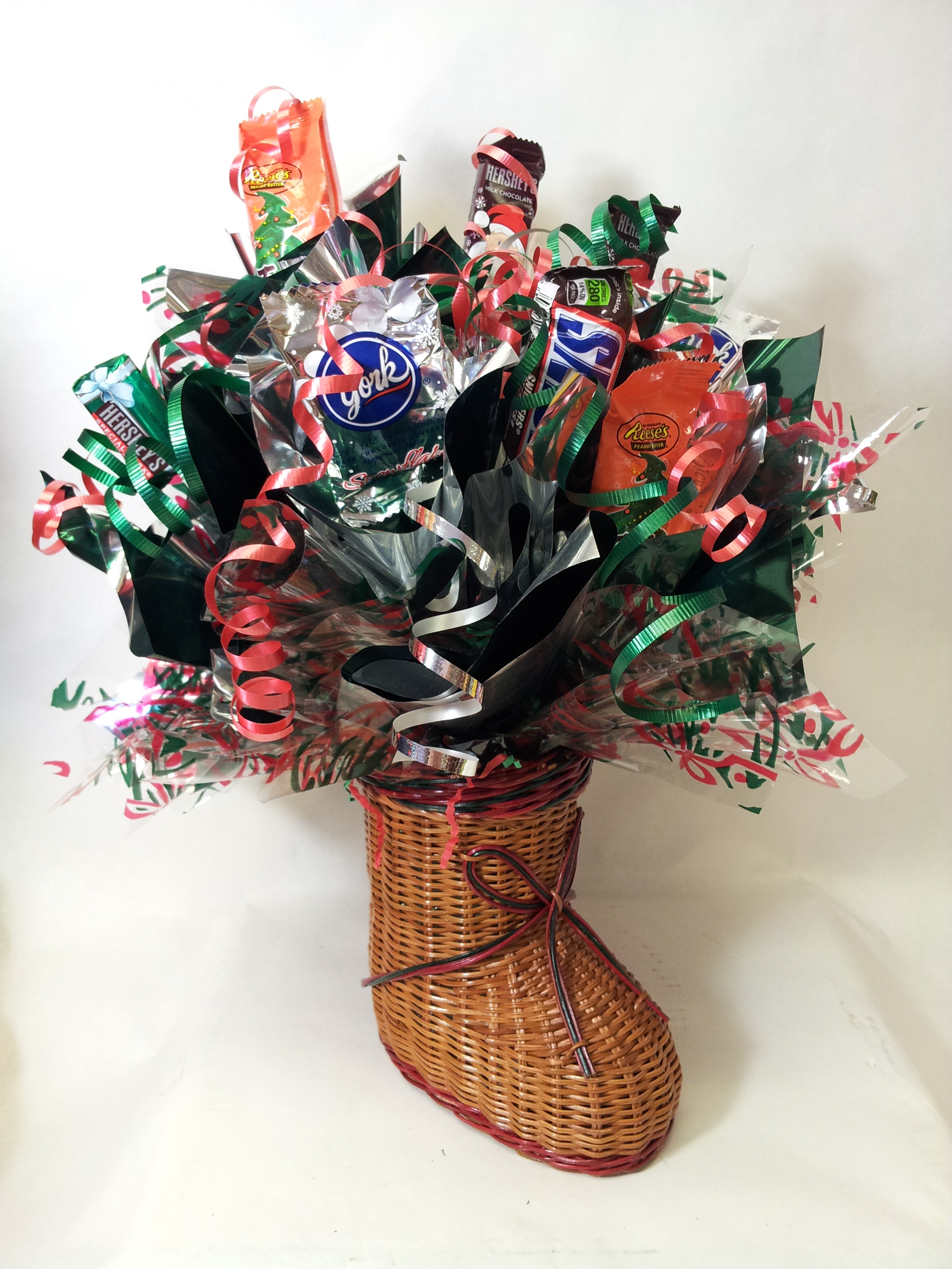 Candy Wicker Stocking