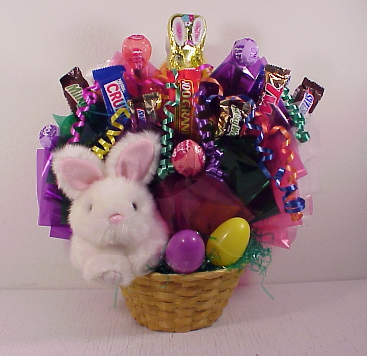 Easter gift baskets easter bouquets and easter gifts medium bunny basket negle Gallery