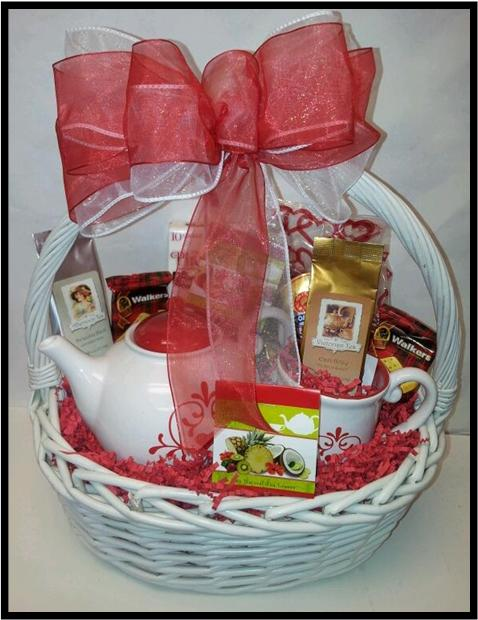 Tea Love Basket